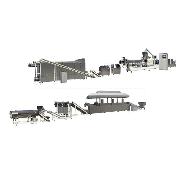 Snacks Pellets Extruder Processing Line --For More Business