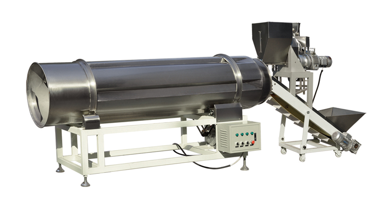 single roller flavoring machine
