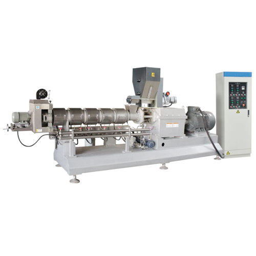 The double screw extruder is the best choice for the food manufacturer