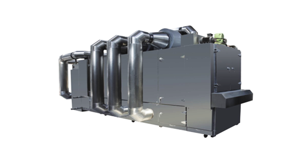 The five layer with hot air circulation oven
