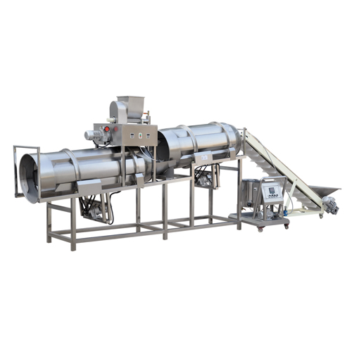 Food Extrusion Cooking Process -- Flavoring System