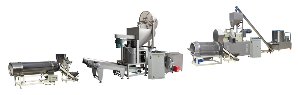 Fried Kurkure Production Line Batch Fryer