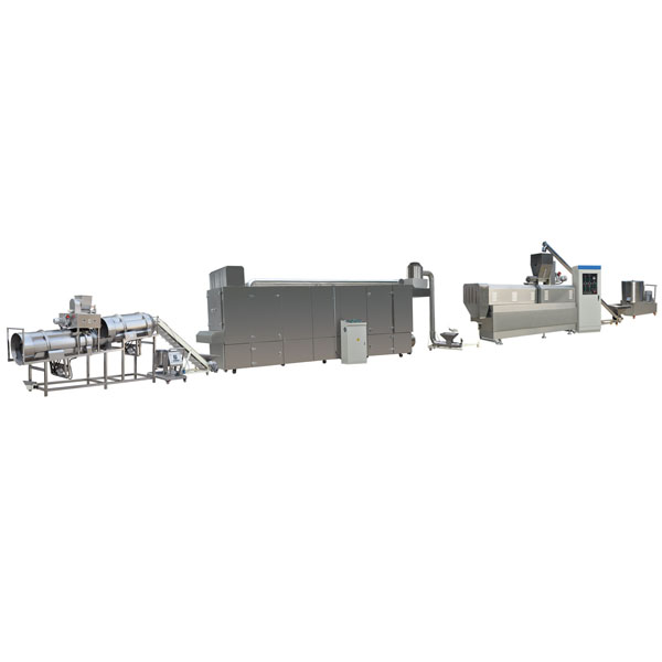 Puff Snack Food Extruder Production Line And Puff Filling Making Machine