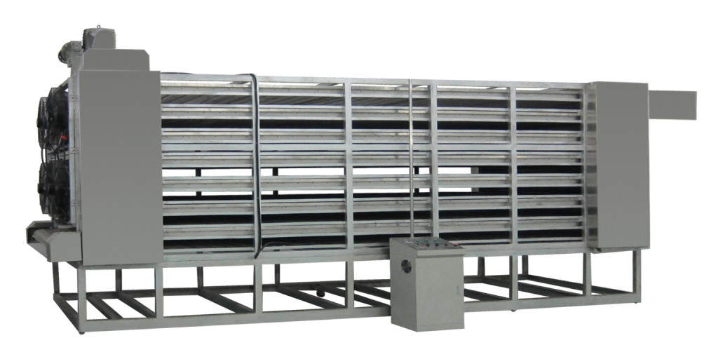 cooling machine used in corn flakes line and fiber protein line
