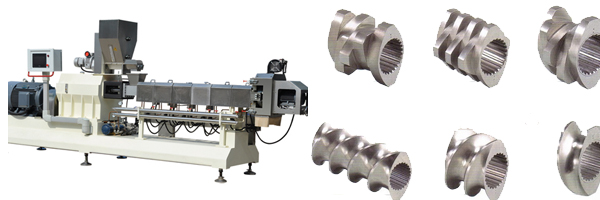 Working of the twin screw food extrusion machine - Excellent