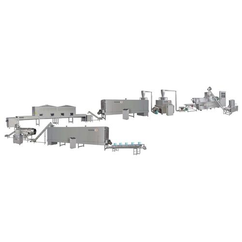 100-150 kg/h puffed breakfast cereals making machine line