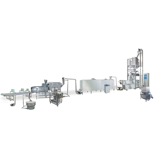 100-150 kg /h fish feed extruder production line