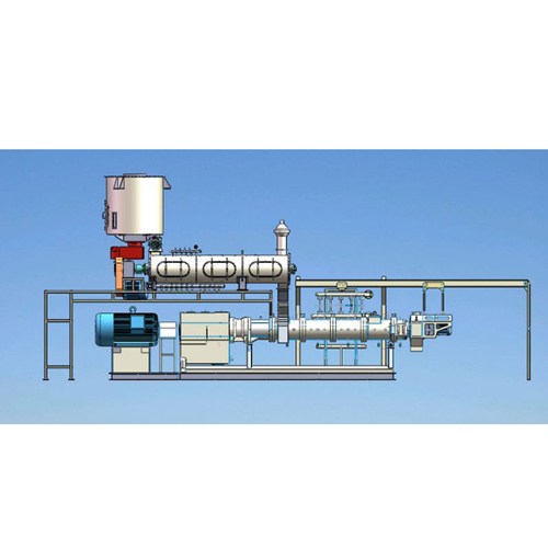 The benefit of the food extrusion machine VS the traditional food processing