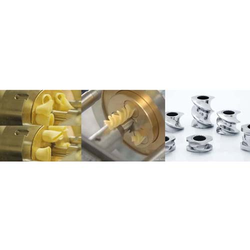 The types of the food extrusion process