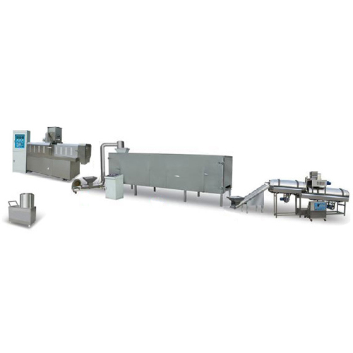 120-150 kg/h puffing machine production line