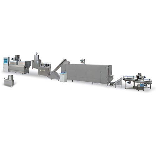 200-300 kg/h cereal puffing machine production line
