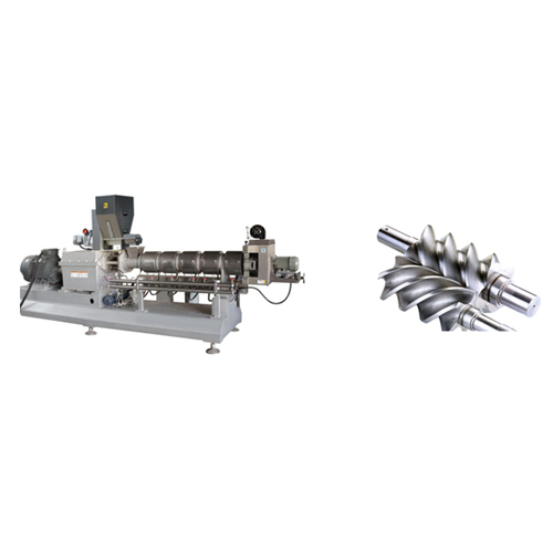 Design of the twin screw food extrusion machine (4)