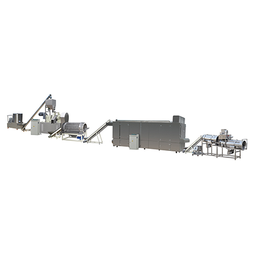 Fully Automatic Stainless Steel 100-150 KG/H Baked Kurkure extruder production line