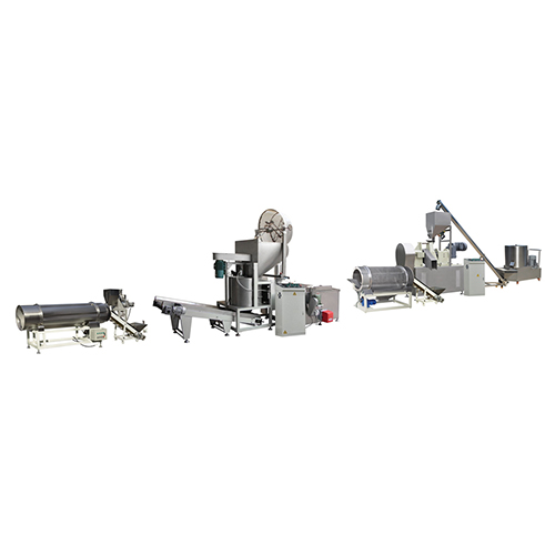 Fully Automatic Stainless Steel 100-150 KG/H Fried Kurkure Plant