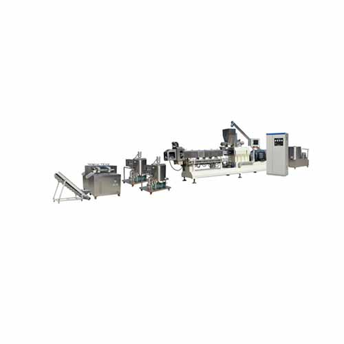 Food Co-extrusion Machine For Center Filling Snack Food Production Line
