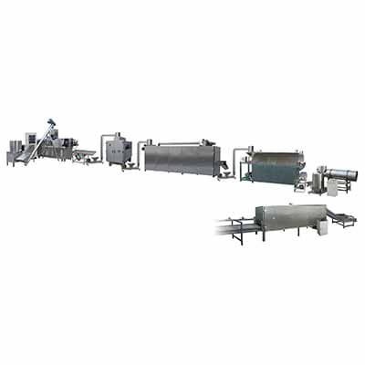 Food Extruder Processing Line -- Transport System