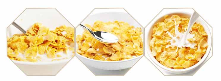 Corn Flakes line shipped to Africa