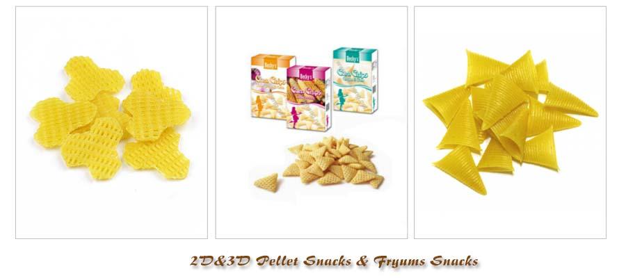 2D&3D pellet snacks 58746