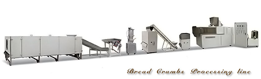 bread crumbs processing line 5214