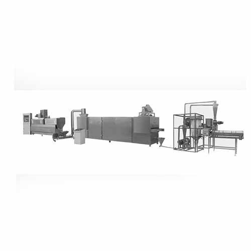 Instant Rice Powder / Baby Food Making Machine -- Also Create Other Extruded Snacks
